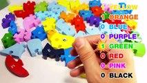 Et les couleurs concours compte pour enfants Apprendre laisse nombres avec en bois Alphabet de casse-tête abc 123