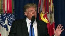 Trump descarta retirada rápida dos EUA do Afeganistão