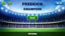 Androïde les meilleures par par des jeux Football Football monde Freekick champion sport sport game hd