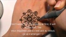 Bras débutants soutiens-gorge conception conception pour henné sur verser simple henné simple débutants sur
