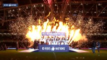 England lift the RBS 6 Nations trophy as 2017 Champions! | RBS 6 Nations