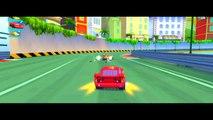 Bataille des voitures drôle foudre Nouveau course course avec 2 hd gameplay disney pixar mcqueen