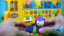 Autobus voiture école jouets numéros Pororo jeu ppabang jouet autobus scolaire Annie Pororo