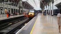 Déraillement d'un train en Gare de Padington à Londres