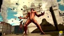 Et attaque fin femelle liberté de de sur rond contre ailes Titan eren titan 2 gameplay 【plein