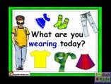 Enfants vocabulaire vêtements vêtements Apprendre Anglais pour enfants Anglais éducatif vidéo