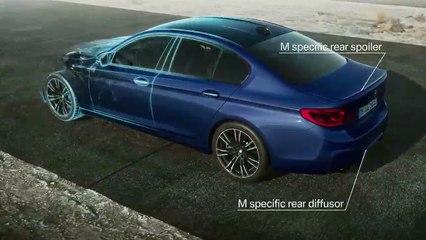 Aperçu d'une vidéo de l'article BMW M5 (2017) : prix, infos et premières photos officielles