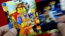 The LEGO Movie KnockOff Minifigures Set 4 w/ Emmet Vitruvius Uni-Kitty & Wyldstyle