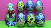 Sponge Bob Square Pants surprise eggs unboxing Bob Esponja Pantalones Cuadrados sorprenden