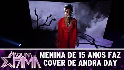 Menina de 15 anos faz cover de Andra Day
