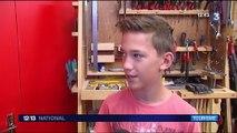 Vacances : quand les enfants apprennent à fabriquer des jouets en bois