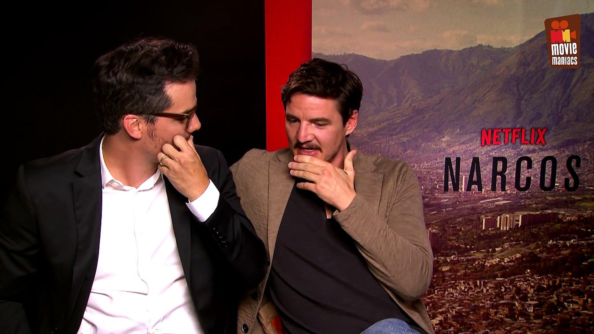 Narcos Season 2   Wagner Moura & Pedro Pascal on Season 2 (Interview)  Netflix