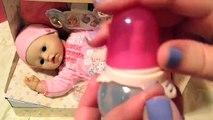 Bébé née garçon les créations poupée déballage Zapf