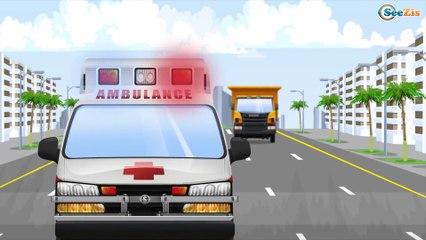 Grande Camión De Bomberos con Extintor, LUZ y SONIDO - Demostración con Maquina - Videos Para Niños