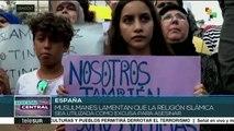 Comunidad musulmana de Barcelona se moviliza contra el terrorismo