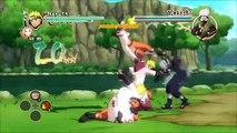 Et bataille patron orage échanger ultime contre Naruto ninja 2 mod sasuke sakura kakashi charer