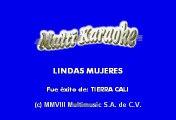 Tierra Cali - Lindas mujeres (Karaoke)