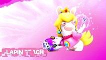 Mario + The Lapins Crétins Kingdom Battle - Présentation de Lapin Peach