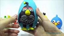 Et en colère des oiseaux bombe mandrin poupées des œufs géant à lintérieur de nombreux jouer rouge jouets avec Surprise doh