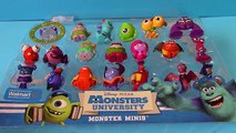 Monsters University Monster Minis Surprise Eggs Monsters Inc Toys Disney Pixar Collection