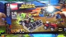 Homme chauve-souris la crainte récolte de de épouvantail super-héros La peur de 76054 Lego Batman Scare examen du processus dassemblage Corbeau Buil lego dc