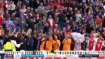 Des supporters se font confisquer un ballon de plage pendant un match de cricket et font tout pour le récupérer