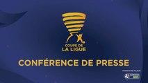 Conférence de presse Paris FC - Clermont Foot (0-2) : Fabien MERCADAL (PFC) - Corinne DIACRE (CF63) - 2017/2018