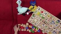 Bébés enfants Jardin denfants apprentissage moi moi partie jouer préscolaire avec Alphabet abc abc puzzle