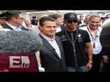 EPN recorre el Autódromo previo al Gran Premio de México / Vianey Esquinca