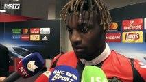"""Nice-Naples (0-2) – Saint-Maximin : """"On est très déçus mais Naples était supérieur"""""""