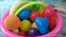 Ballon des ballons dessin animé enfants les couleurs pour enfants Apprendre Voir létablissement le le le le la humide étonnant