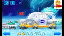 Y Lunokhod Rover espacio cohete de la historieta sobre los astronautas en el espacio de Lego casera