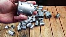O que acontece se você jogar Alumínio Derretido na Piscina?