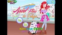Recuerdos de viaje el tiempo perdido de la sirenita Ariel Prince Eric Kyle tv juego de la animación de Disney