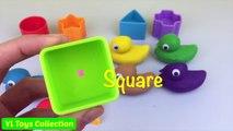 Apprendre les couleurs et formes jouer Canards amusement pour enfants et bébé