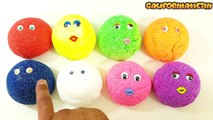 Banana TV - Learn Colours English & Spanish With Foam Clay Surprise Talk Animation Spider-