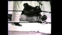 Dory Funk Sr vs Abe King Kong Kashey 1950s Texas professional wrestling wild action