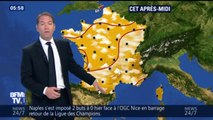 Météo : de la chaleur et des risques d'orages dans le sud ce mercredi