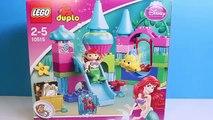 Petit sirène Princesse jouets déballage ariel Lego Duplo Petite Sirène Disney princesses disney