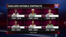 Cleveland Cavaliers New Roster - August 23, 2017
