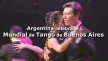 Argentina celebra el Mundial de Tango de Buenos Aires
