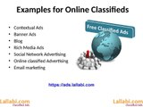 Importance and Advantages of online classifieds (advertising) in india