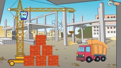 ✔ Camión, Grúa, Excavadora. Dibujos animados | Carros Para Niños | Caricaturas de carros ✔