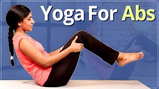 YOGA For ABS | Abs WORKOUT | Yoga For FLAT BELLY & STOMACH | EASY YOGA WORKOUT | Workout Video