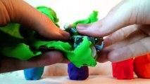 Et enfants des œufs pour des jeux enfants domestiques patrouille patte pâte à modeler jouets 45 minutes surprise todd
