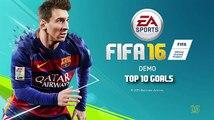 FIFA 17 | TOP 10 BEST GOALS | FT. SCORPION, RABONA, BICYCLE KICK, FREE KICK GOALS & MORE!!