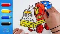 Et coloration dessin Emilie pour amis leçon les trains femme merveille ♦ ♦ Minis thomas