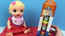 Vivant bébé poupée alimentation aliments lis mon jouer Snackin elmers doh