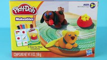Et chat chienchien minou Nouveau animal de compagnie jouer pâte à modeler chiot Boutique jouets avec Doh Makeables littlest