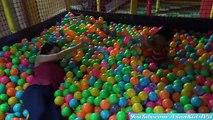 Ethans Indoor Playground Playtime Fun! Slides, Jumpers, Pool of Plastic Balls, etc.